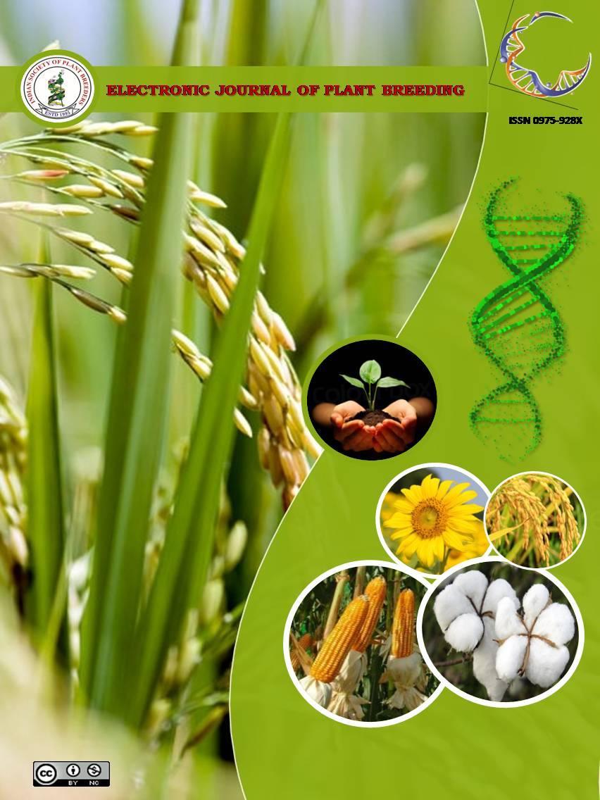Vol 10 No 2 (2019): EJPB | Electronic Journal of Plant Breeding